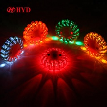 16LED rechargeable Warning rotating beacon light flash led strobe light traffic warning light for vehicle emergency