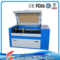 professional laser engraving machine for glass bottles and mug cups sh-G350 with 50w/60w laser tube