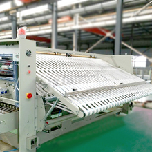 High Quality sheet textile folding machine factory price with after sale service