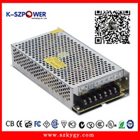 80w 12V 6.5A ac dc regulated industrial switching mode power supply