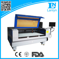 Automatic Pickup Positioning Irregular Label and Embroidery China Laser Cutting Machine