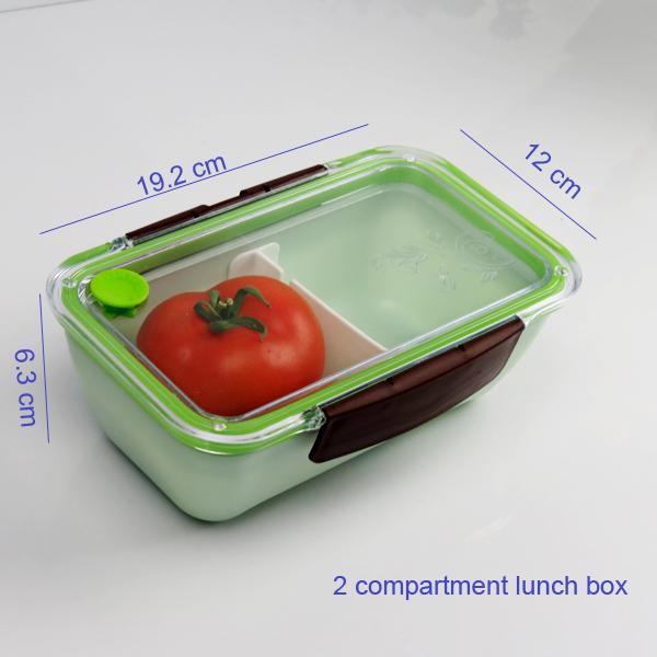 clear lid divider adjustable bento box bento lunch box. Black Bedroom Furniture Sets. Home Design Ideas