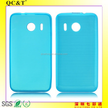 mobile phone tpu case cover with drawbench texture for Huawei Y320
