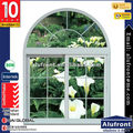 Made in Guangzhou / Double glass Australia standard pvc sliding window