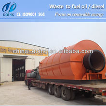Recycle rubber products to fuel oil equipment Made in china supplier