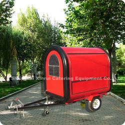 2013 World Leading!! Stainless Steel Mobile Serving Food Cart for Make Pizza Hot Dog XR-FC220 B