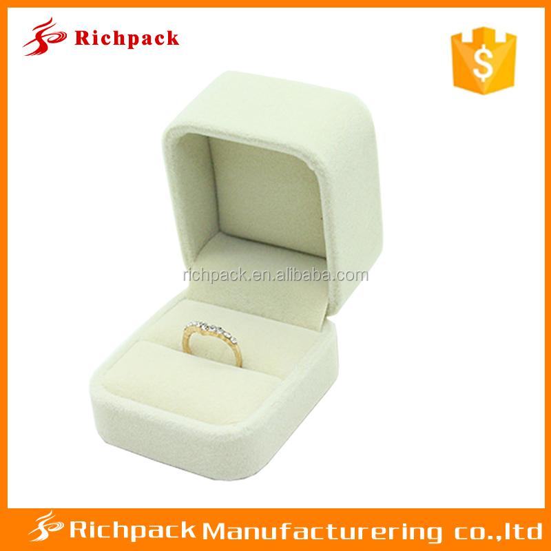 cheaper than ceramic jewellery box Apricot plastic jewelry box