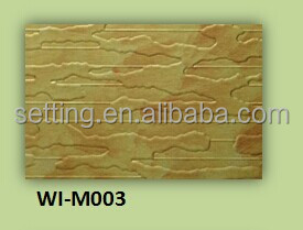 E1 Grade ,Embossed aluminum sheet faced MDF Board For kitchen Cabinet/Project Decoration /Hotel Decoration