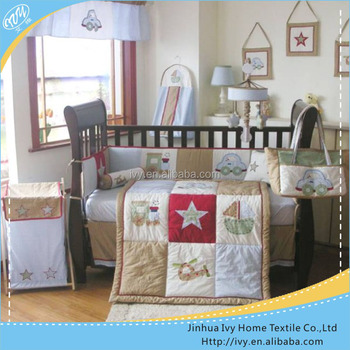 100 cotton crib baby bedding china