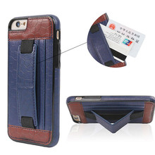Women wallet Leather Stand cellphone case With Credit Card Holder For iPhone 6 4.7 Plus 5.5