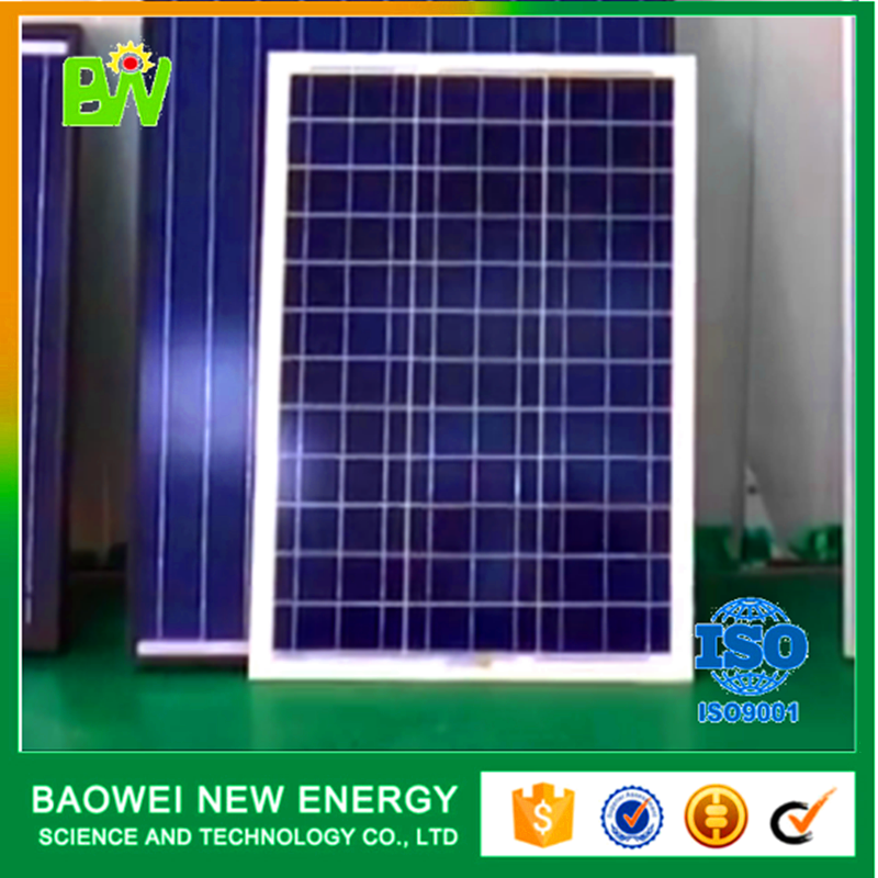 High efficiency poly 100 watt photovoltaic solar panel production line