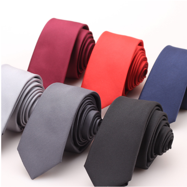 Skinny Polyester yarn business custom <strong>tie</strong> for men