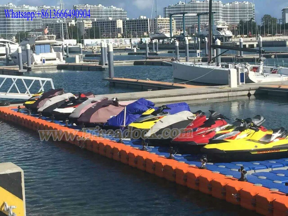 Modular docking system, pontoon, jetty, jet ski dock