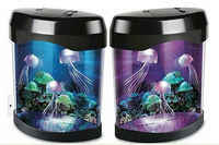 Underwater LED artificial jellyfish Aquarium Present jellyfish fish tank
