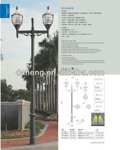 Decorative Aluminum Street Lamp Pole