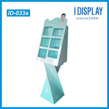 skin care corrugated cardboard display case for shop sale