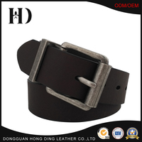 Deep Brown PU Leather Bridle Belt