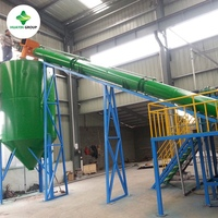 High Oil Yield Rate Continuous Scrap Tire Pyrolysis Equipment
