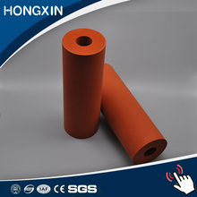 Laminating steel coated rubber silicone roller