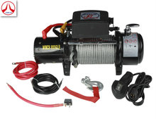 DC 12V/24V 8000LBS electric winch synthetic rope waterproof/ 4X4 Off-Road Winch