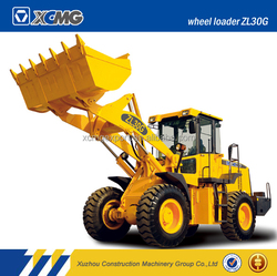 XCMG Official Manufacturer ZL30G 3ton container top wheel loader