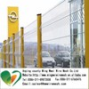 steel fence panels/ V profile mesh fence/green single wire v mesh fencing