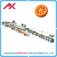 High Efficiency Small Cream Biscuit Making Machine