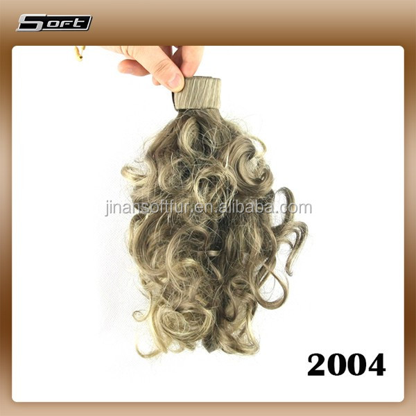 Fashion Girls Long Curly Volume Horsetail Ponytail Wig