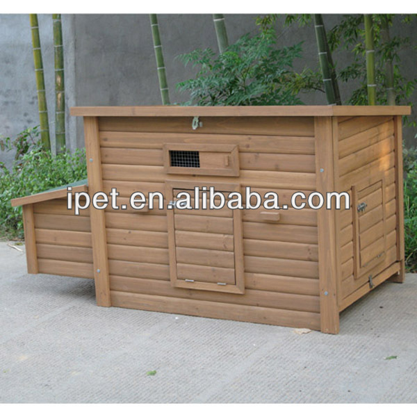 Portable waterproof wooden chicken coop CC011