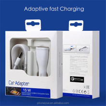 Universal Cell Phone Fast Charging USB Car Charger Adapter for Samsung Note 3