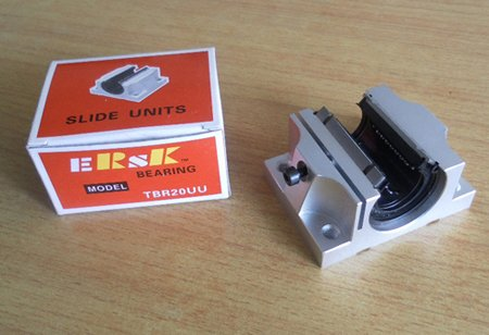Linear motion slide units aluminum alloy block bearing TBR25UU
