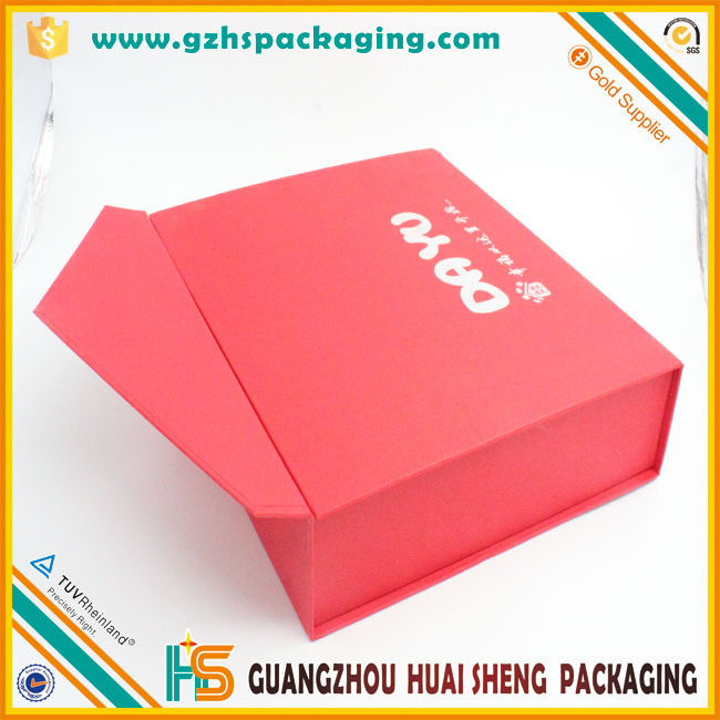 Luxury Red Textured Paper Gift Keepsake Cardboard Colored ...