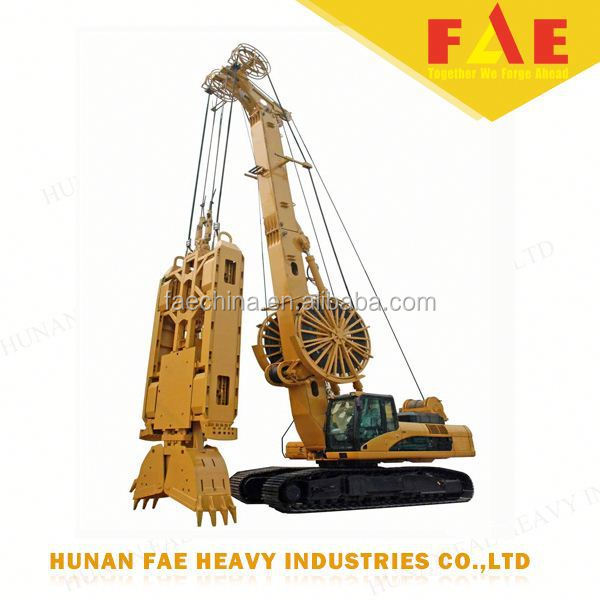 FAECHINA -best price Rotary Drilling Rig diaphragm wall grab