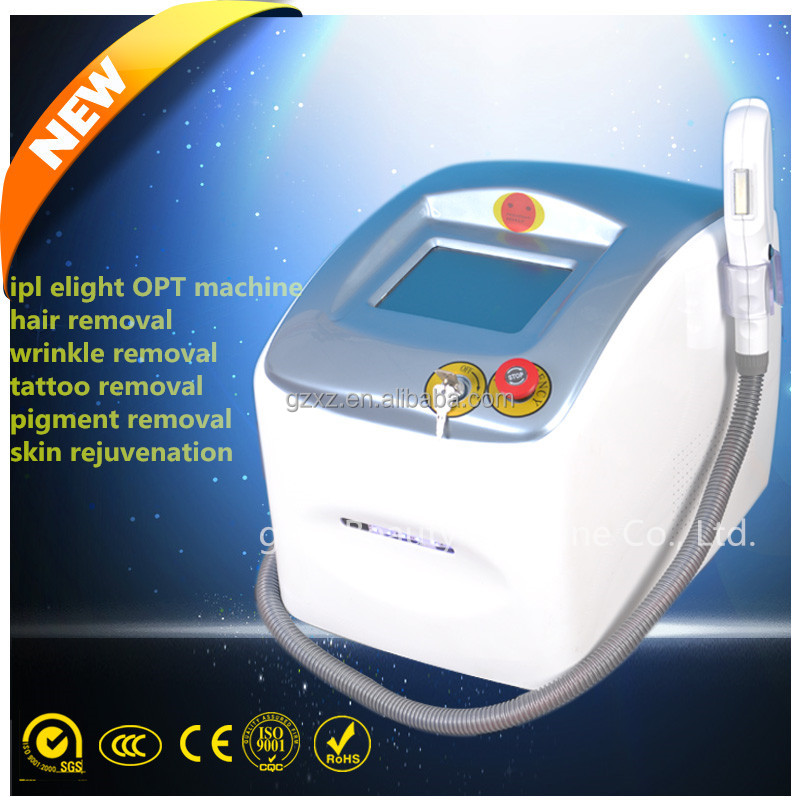 Portable new opt with IPL system/skin rejuvenation/hair removal beauty equipment