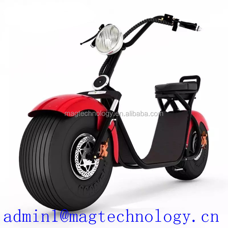 2017 Mag electronic harley electric scooter electric motor Mini Electric Scooter/60-80km Range Per Charge carbon fiber