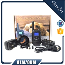 TOP Rated Dog Waterproof Anti Bark Control Collar Product with Beep Vibrating Electric Shock Collar