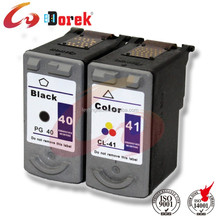 PG-40 CL-41 ink cartridges for canon 40 41 for Canon PIXMA iP1180 iP1880 iP1980 iP2580 iP2680 MP145 MP198 MP228 MP476 MX308 MX31
