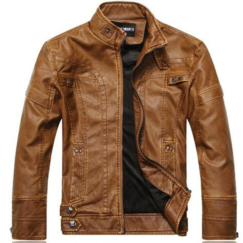 Pu Genuine Cheap Faux Men Leather Jacket With High Quality For Men