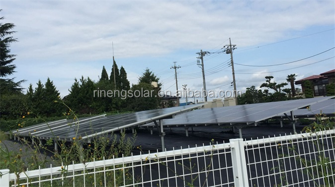2020 hot sale aluminium solar panel ground mounting structure for solar energy system