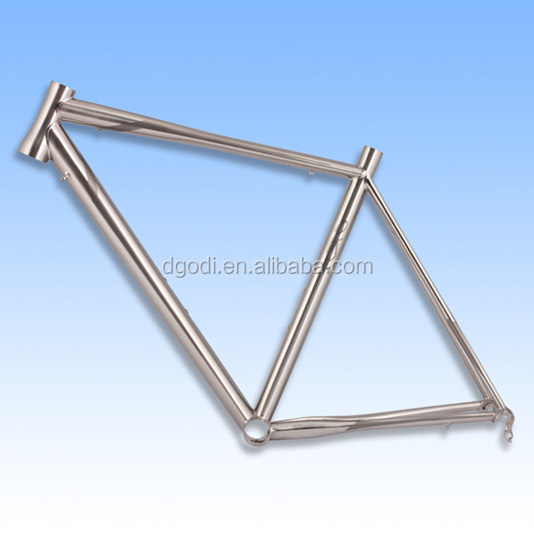 Custom China best quality reasonable price fat titanium bike frame