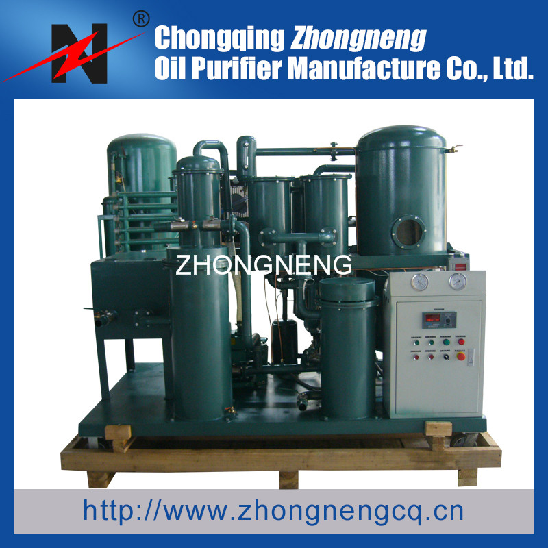 ZHONGNENG Waste Oil Purifier System for Oil Recovery, Lubricant Oil Filtration System