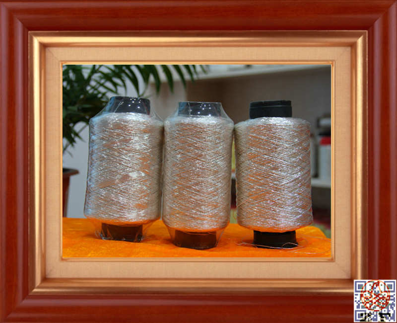 Metallic cord in different colors and thickness metalized rope