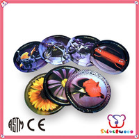 ICTI SEDEX factory Outdoor Game Logo Customed promotional foam frisbee flying disc