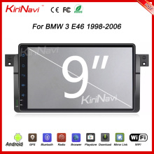 "KiriNavi WC-BW9019 9"" andriod 6.0 car radio dvd for bmw e46 multimedia 1998 - 2006 USB bluetooth"