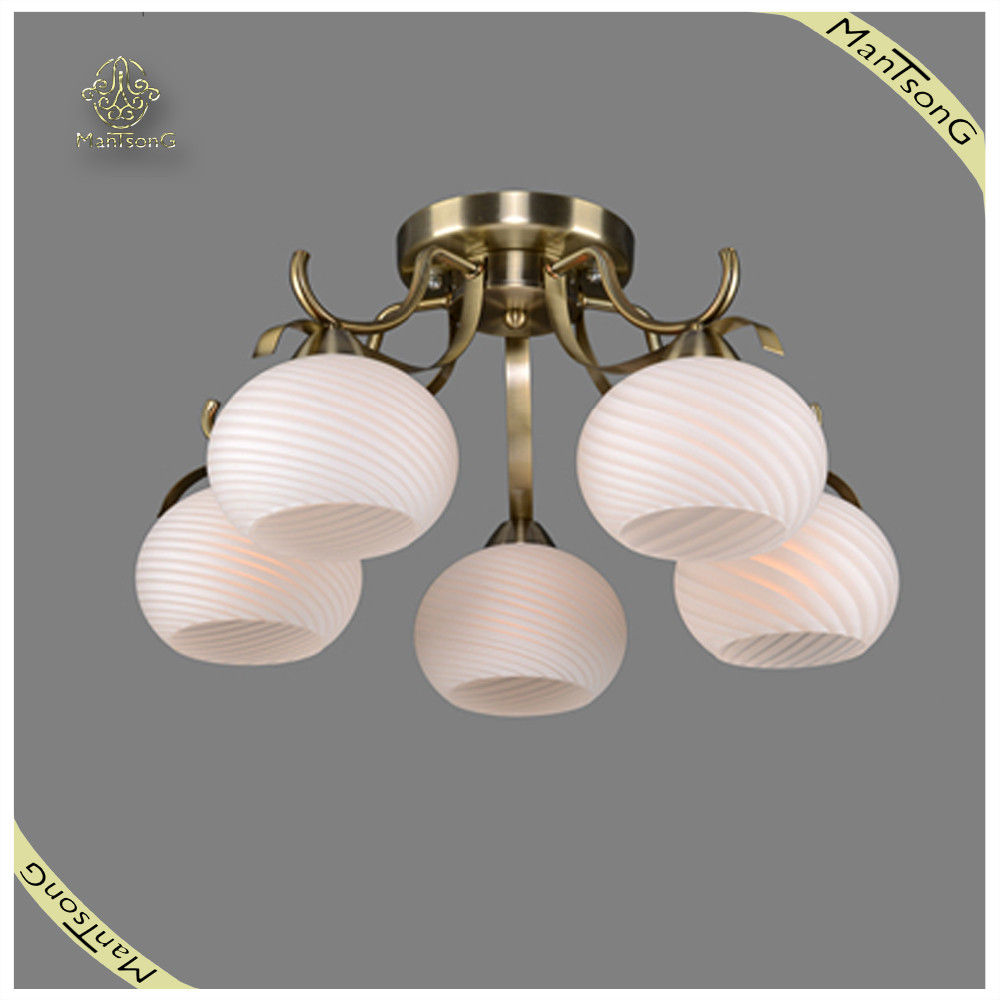 Wholesale and Retail Modern Style Glass Ceiling Light Ceiling Lights for Living Room , Ceiling Lamp Modern Metal