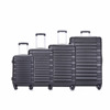 20''/24''/28''/32'' 4pcs lightweight abs trolley spinner luggage set