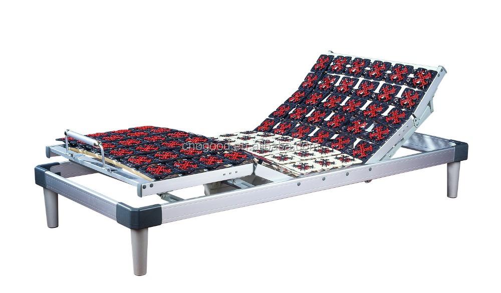 5 fonction lectrique r glable zones cadre de lit de massage lit en m tal id de produit. Black Bedroom Furniture Sets. Home Design Ideas