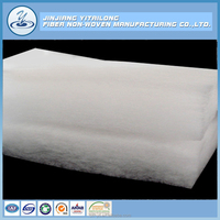 Manufacture 100% Polyester Silk Like Polyester Filling