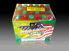 24 Shots Barrages Super Saturn Missiles Fireworks