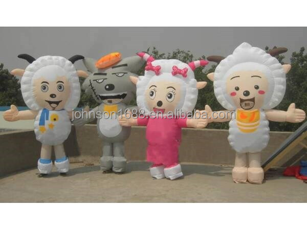 inflatable cartoon figures